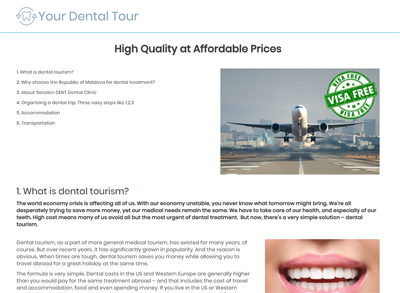 yourdentaltour.com - High Quality at Affordable Prices